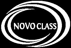 Logo NovoClass alb